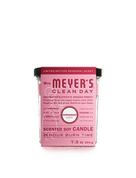 Mrs. Meyer's Peppermint Large Jar Candle   7.2oz by Mrs. Meyer's Clean Day