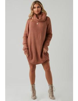 Used To Love You Sweater Dress by Honeybum