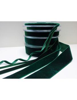 Dark Green Velvet Ribbon Trim, Choker Velvet, 7mm 10mm 16mm 25mm 38mm by Etsy