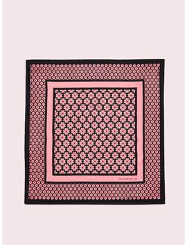 Spade Flower Silk Square by Kate Spade