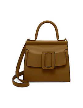 Karl 24 Leather Top Handle Bag by Boyy