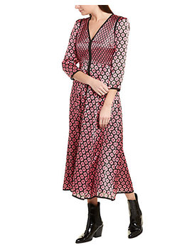 Kate Spade New York Silk Midi Dress by Kate Spade