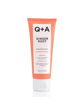 Q+A Ginger Root Daily Moisturiser 75ml by Q+A