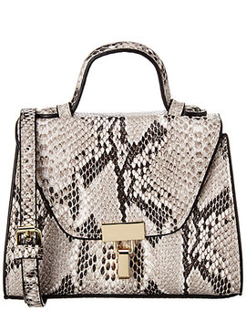 Kc Jagger Top Handle Python Crossbody by Kc Jagger