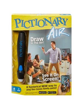Pictionary Air Family Drawing Game, Links To Smart Devices, Ages 8 Y+ by Mattel