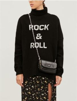 Alma Turtleneck Oversized Wool Jumper by Zadig&Voltaire