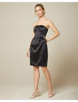 Satin Bustier Cocktail Dress by Rw & Co