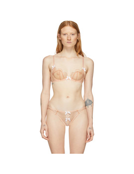 Pink Lorna Bra by Agent Provocateur
