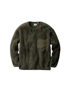 Uniqlo X Engineered Garments Fleece Pullover Olive by Stock X