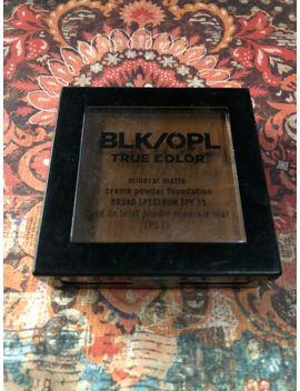 Black Opal True Color Mineral Matte Creme Powder Foundation 640 Suede Mocha by Ebay Seller