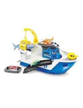 Matchbox Marine Rescue Shark Ship by Matchbox