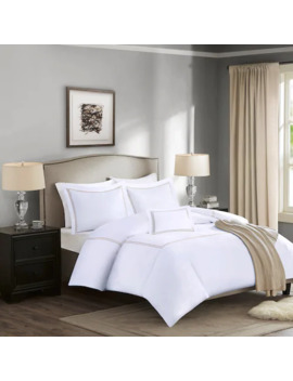 Madison Park Signature 1000 Thread Count Embroidered Cotton 5 Piece Bed Set by Madison Park
