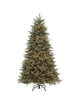 7.5 Ft. Pre Lit Led Color Changing Artificial Christmas Tree With 5000 Micro Dot Lights by Home Accents Holiday