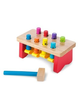 """<Span><Span>Melissa & Doug Deluxe Pounding Bench Wooden Toy</Span><Br><Span>With Mallet</Span></Span><Span Style=""""Position: Fixed; Visibility: Hidden; Top: 0px; Left: 0px;"""">…</Span> by Melissa & Doug"""