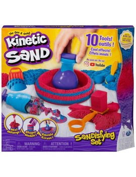 Kinetic Sand Sandisfying Set With Tools by Kinetic Sand