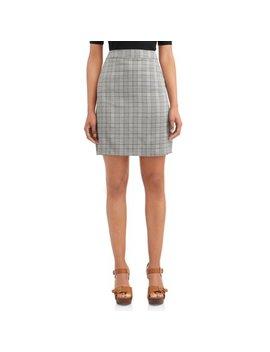Love Sadie Women's Plaid Skirt by Love Sadie