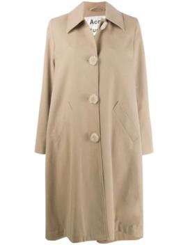 Single Breasted Menswear Mac Inspired Coat by Acne Studios