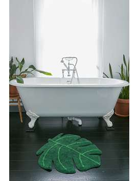 Monstera Bath Mat by Urban Outfitters