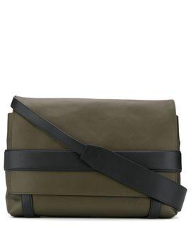 Textured Messenger Bag by Bottega Veneta