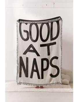 Calhoun & Co. Good At Naps Woven Throw Blanket by Calhoun &Amp; Co.