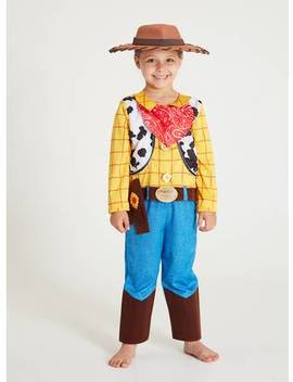 Disney Toy Story Multicoloured Woody Costume   2 3 Yearstuc134658908 by Argos
