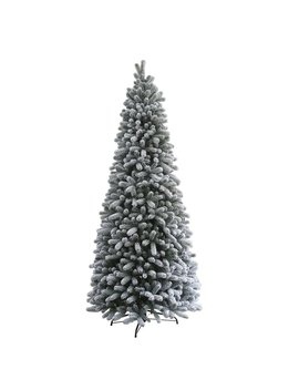 Slim King Green Artificial Christmas Tree by The Holiday Aisle