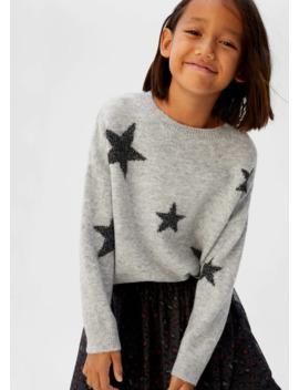Stars Flecked Sweater by Mango