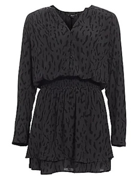 Jasmine Leopard Print Shirtdress by Rails