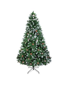 7' Green Fir Artificial Christmas Tree by The Holiday Aisle