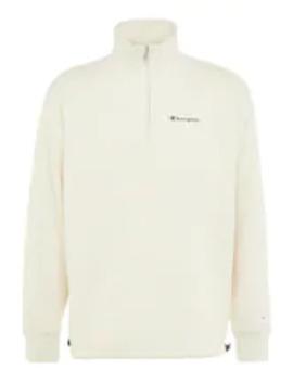 Half Zip   Sweatshirt by Champion