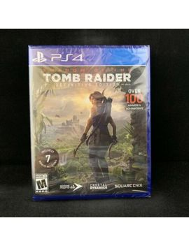 Shadow Of The Tomb Raider Definitive Edition (Ps4 / Play Station 4) Brand New by Ebay Seller