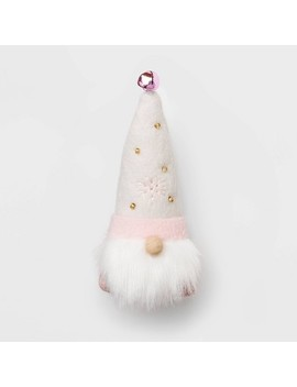 Winter Blush Gnome Christmas Ornament Pink Hat   Wondershop™ by Shop This Collection