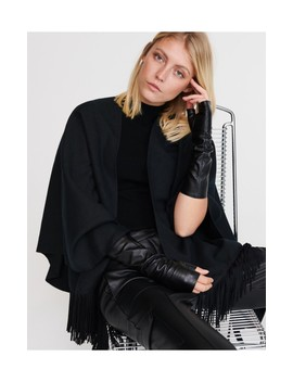 Leather Mittens by Reserved