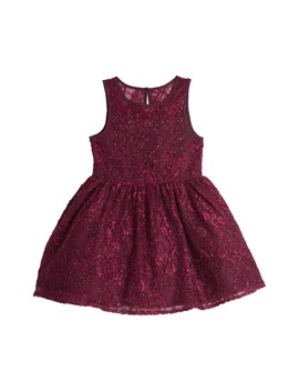 Illusion Shimmer Lace Party Dress by Pippa & Julie