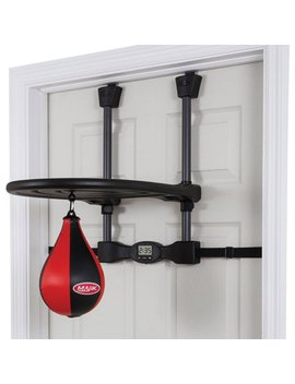 Majik Over The Door Speed Bag Trainer; With Electronic Timer And Adjustable Height by Majik