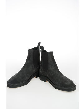 Season 6 Suede Leather Ankle Boots by Yeezy