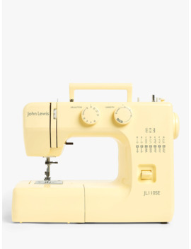 John Lewis & Partners Jl110 Sewing Machine, Yellow by John Lewis & Partners