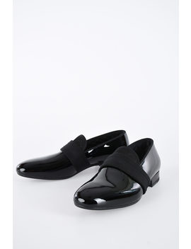 Patent Leather Loafer by Alexander Mc Queen