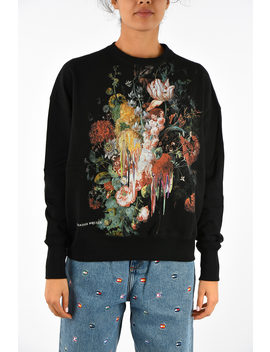 Printed Sweatshirt by Alexander Mc Queen