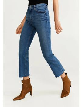 Crop Trapez Jeans by Mango