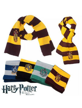Harry Potter Scarf Gryffindor Slytherin Hufflepuff Ravenclaw Gift Cosplay Party by Ebay Seller