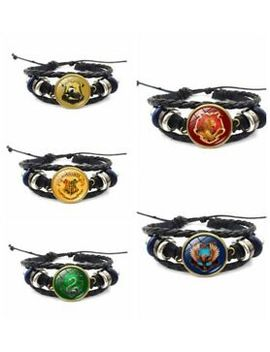 Harry Potter House Bracelet Gryffindor Slytherin Ravenclaw Hufflepuff Hogwarts by Ebay Seller
