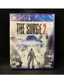 The Surge 2 (Ps4 / Play Station 4) Brand New   Factory Sealed by Ebay Seller