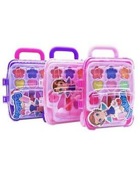 Girls Princess Traveling Make Up Box Kids Cosmetic Pretend Play Toy Set by Ebay Seller
