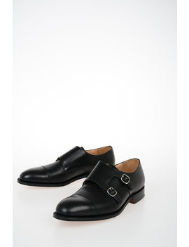 Leather Cowes 173 Monk Strap by Church S
