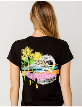 Others Follow Neon Beach Womens Tee by Others Follow