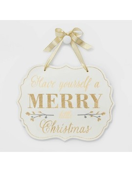 Have Yourself A Merry Little Christmas Wall Sign   Wondershop™ by Shop This Collection