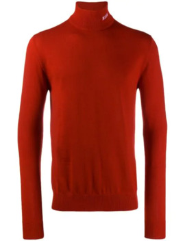Turtleneck Knitted Sweater by Msgm