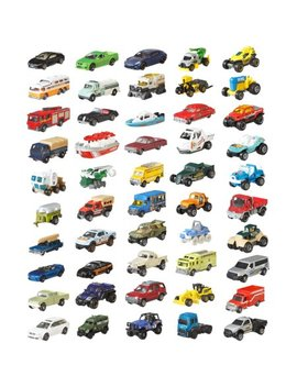 Matchbox Classic 50 Pack Realistic Vehicles Set (Styles May Vary) by Matchbox