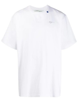 Unfinished Short Sleeve Tee by Off White